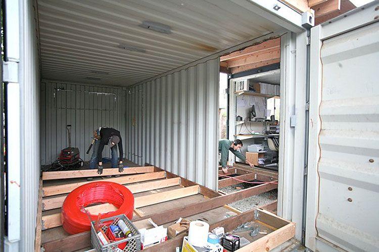 Баня из морского контейнера: как сделать своими руками из 20 или 40-футового вагончика