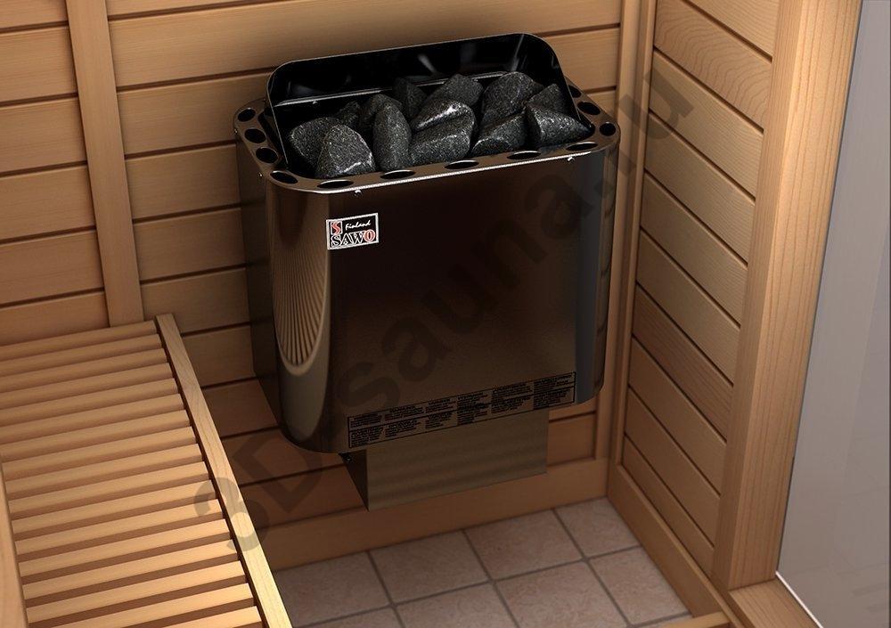 Электрические печи для бани и сауны компании sawo