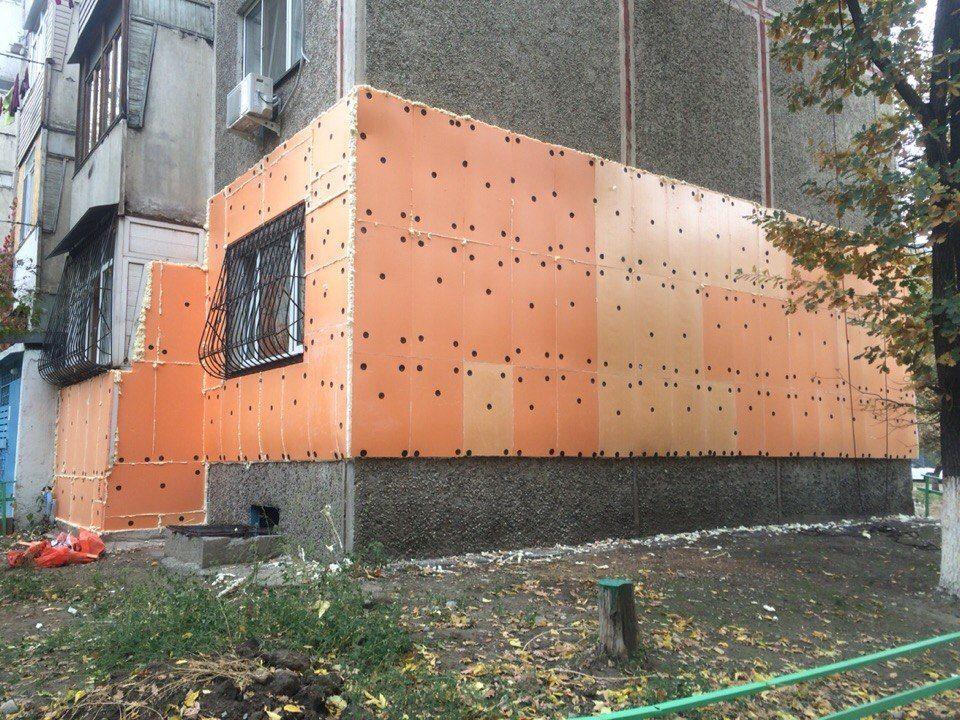 Как крепить экструдированный пенополистирол к стене - клуб мастеров