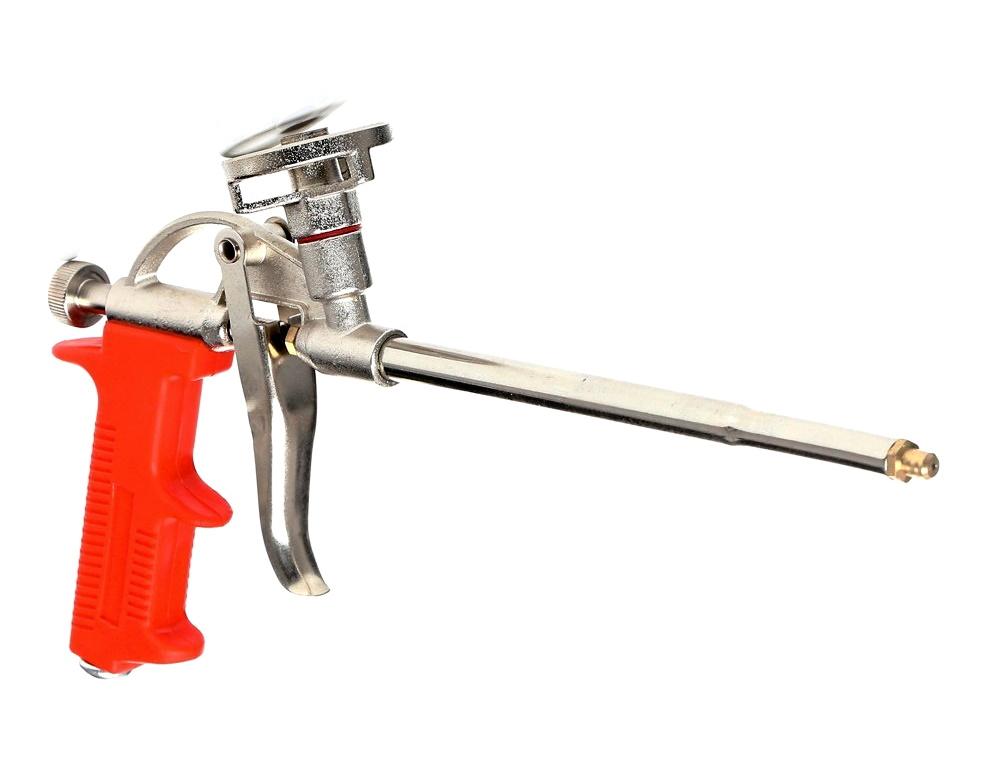 Пистолет для монтажной пены какой лучше, как и какой пистолет выбрать для напыления монтажной пены, пистолет с тефлоновым покрытием, фото, рейтинг