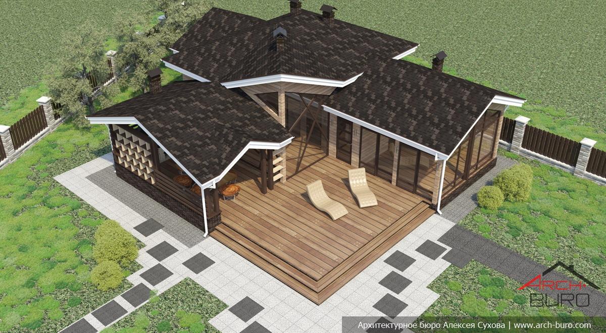 Как построить баню с террасой – подробное руководство по монтажу