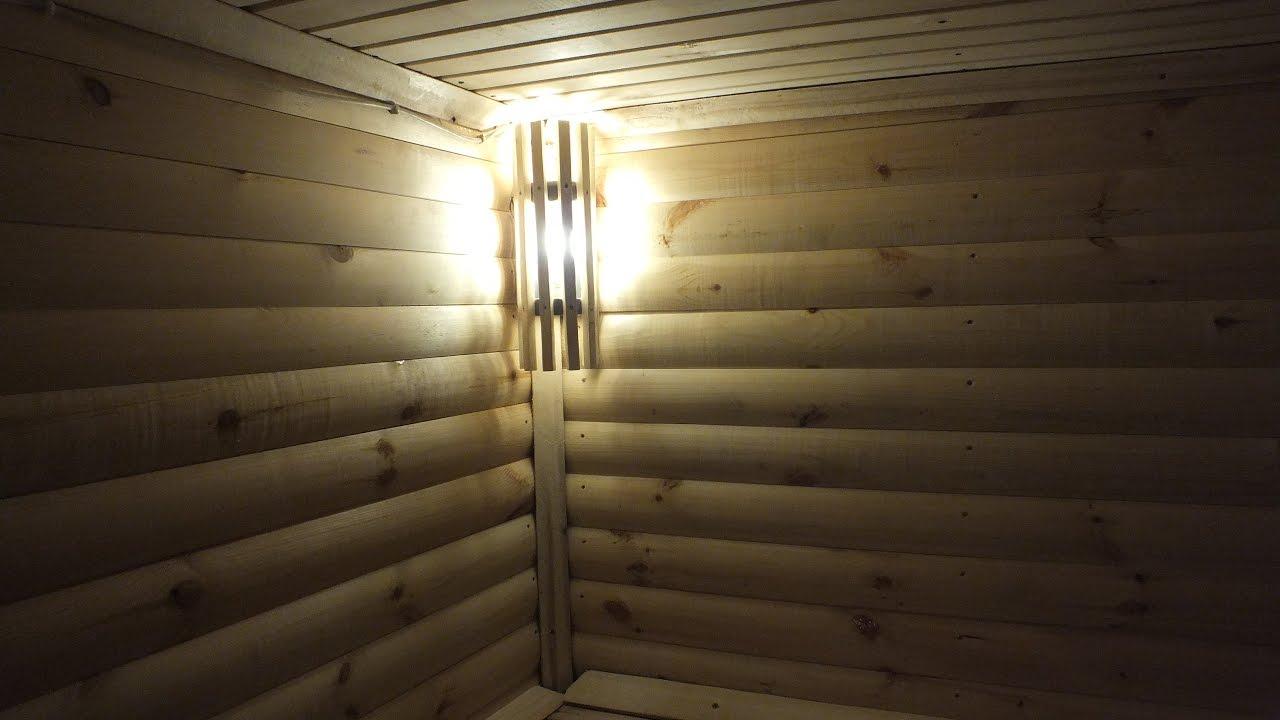 Выбираем светильники для бани и сауны из 4 разных типов + вариант с изготовлением их своими руками