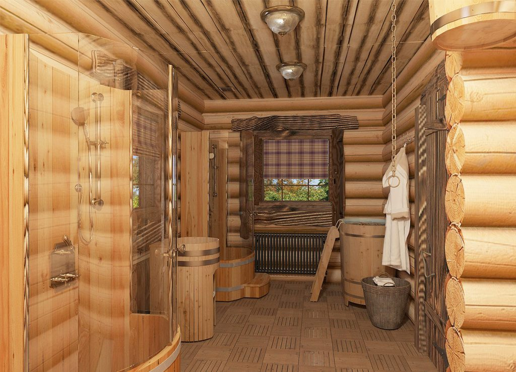Дизайн интерьера бани: советы по оформлению, парилка, комната отдыха, предбанник, подбор отделочных материалов, цветовые решения | ileds.ru