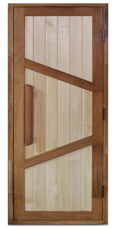 Какие двери выбрать для бани и сауны