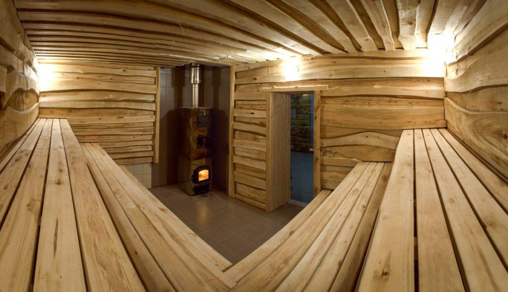Строительство бани из обрезной доски