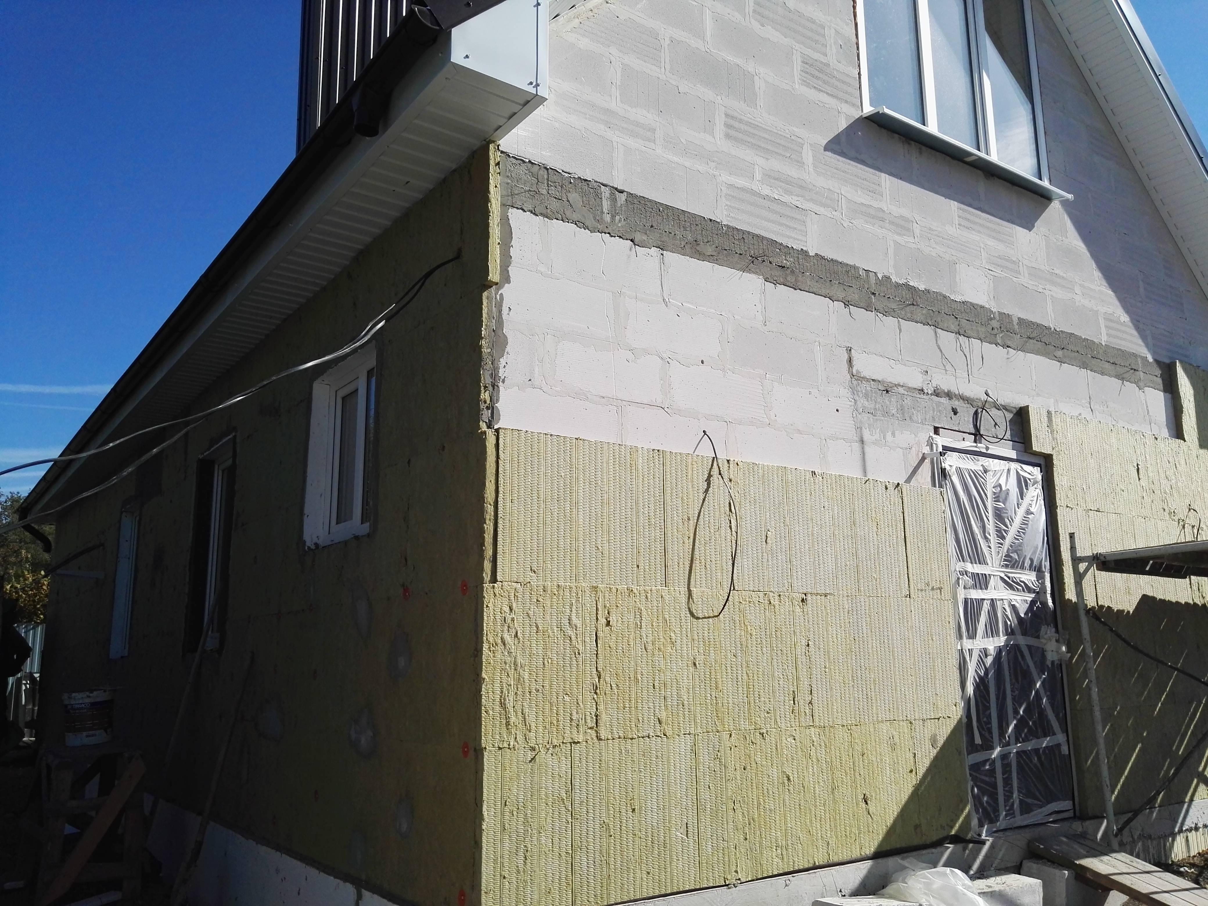 Мокрый фасад: преимущества и монтаж