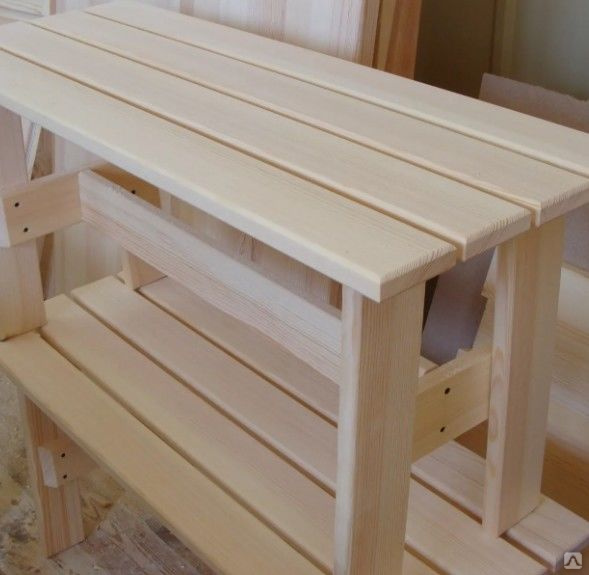 Скамейка для бани своими руками: чертежи и сборка