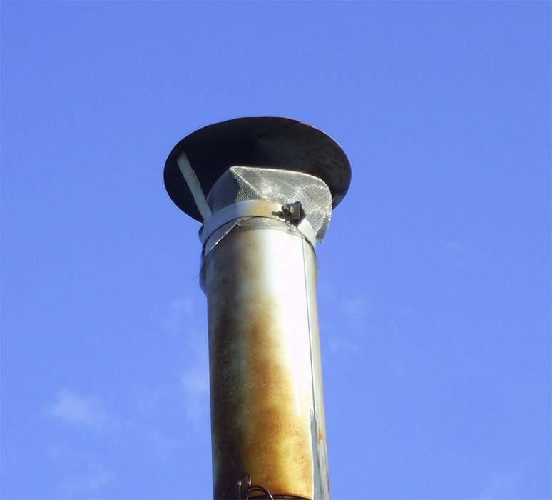Зачем на дымоход устанавливают искрогаситель