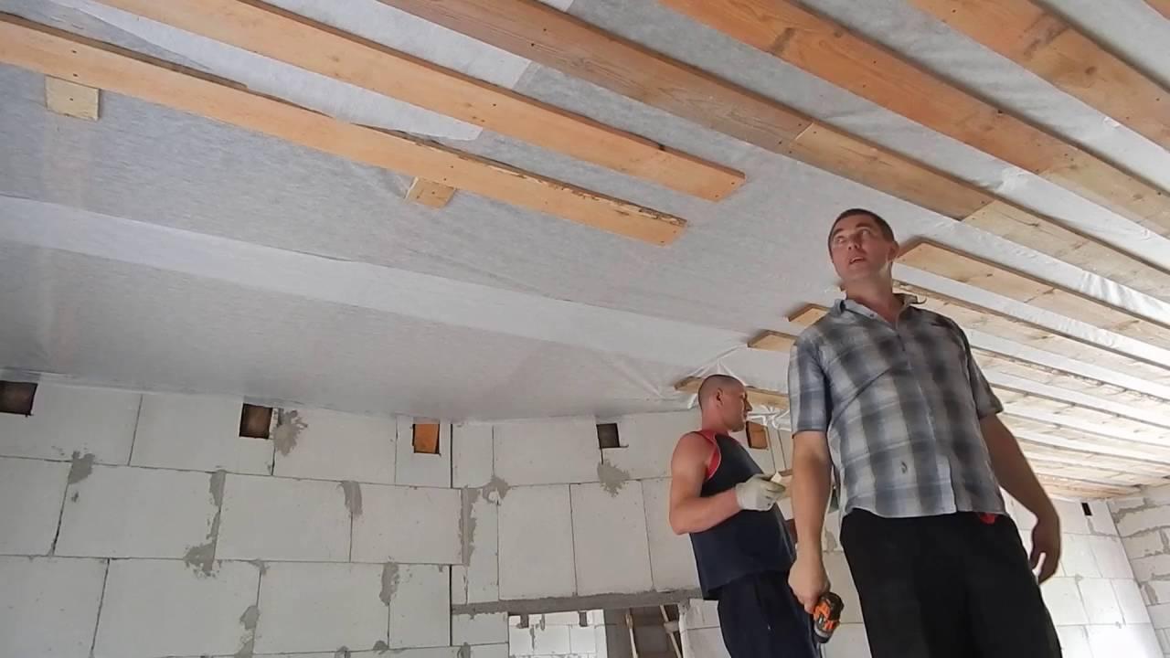 Как подшить потолок доской самостоятельно