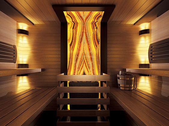 Освещение в бане — подбор светильников и некоторые дизайнерские замечания