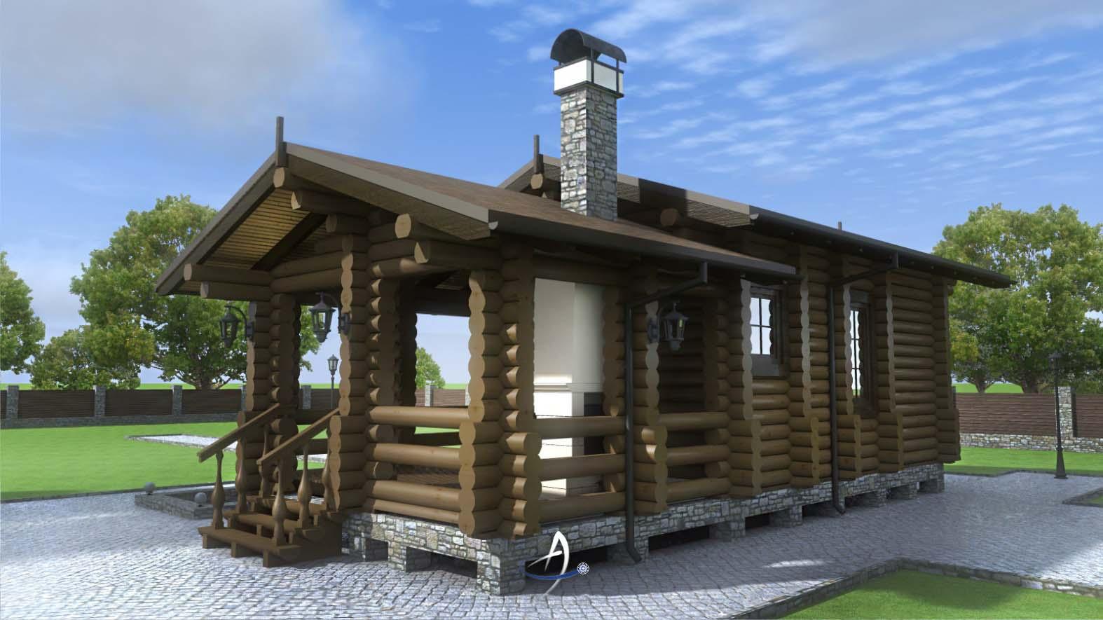 Баня с беседкой - правила и рекомендации по строительству на загородном участке в примерах на фото и видео