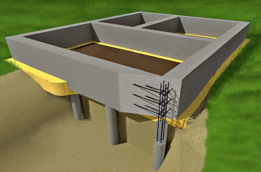 Свайно-ростверковый фундамент. в каких случаях используется? плюсы и минусы