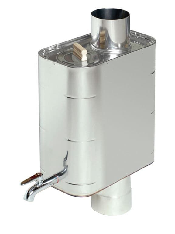 Подключение бака к теплообменнику в бане: установка, типы, материалы