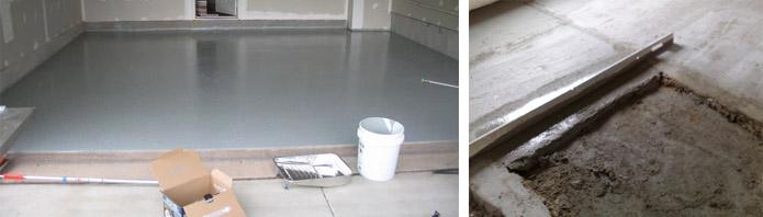 Как сделать бетонные полы в бане своими руками – варианты заливки