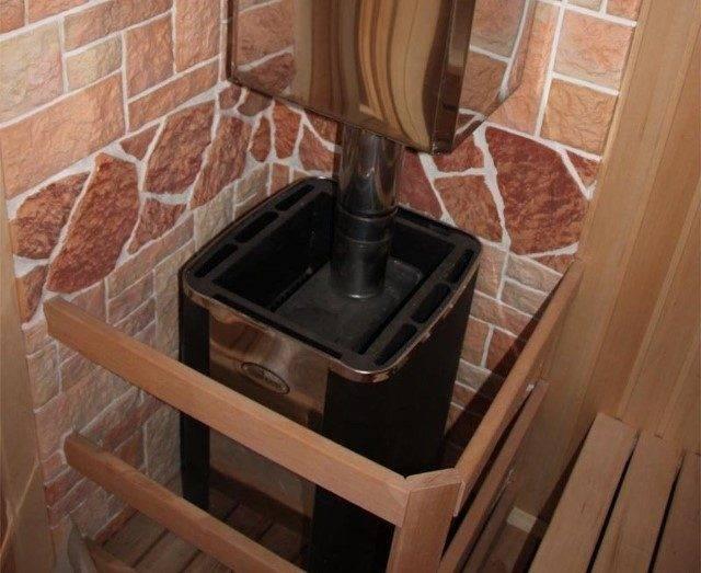 Как обложить металлическую печь кирпичом - пошаговая инструкция!