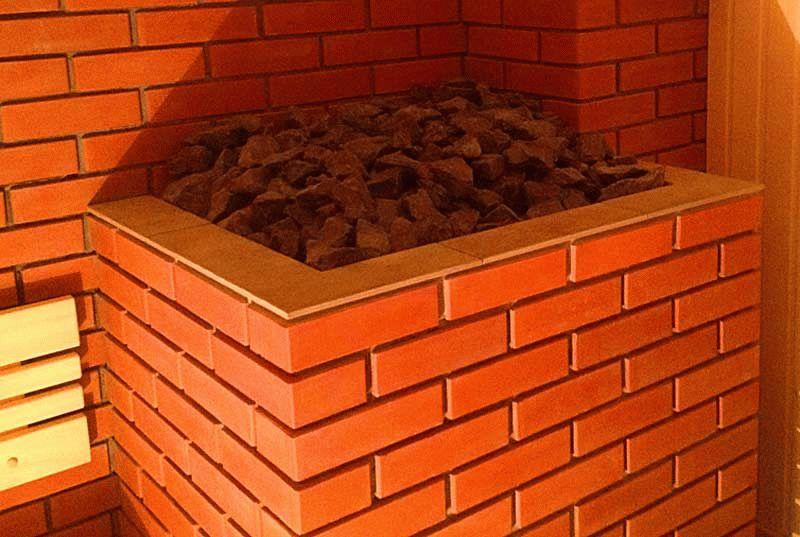 Обложить печь в бане кирпичом: как это сделать для железной или стальной печи, каким кирпичом воспользоваться и другие секреты разделки печки