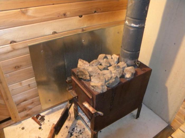 Как установить железную печь в баню – советы опытных строителей