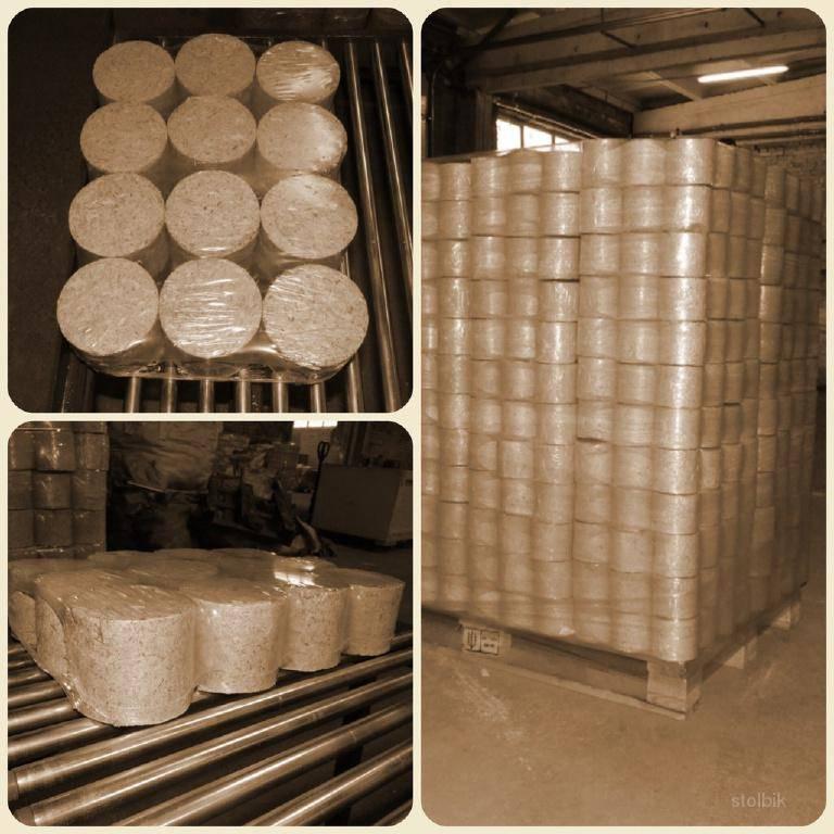 Порядок изготовления брикетов из опилок в домашних условиях