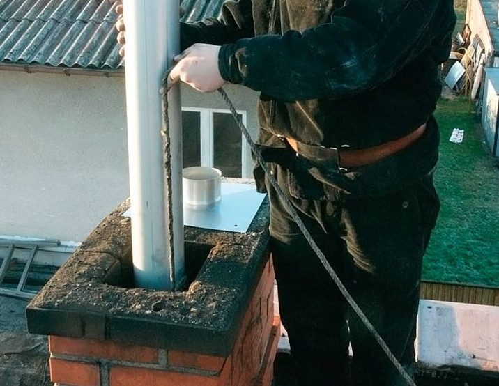Как построить дымоход из кирпича своими руками - правила, порядовка, советы печников!