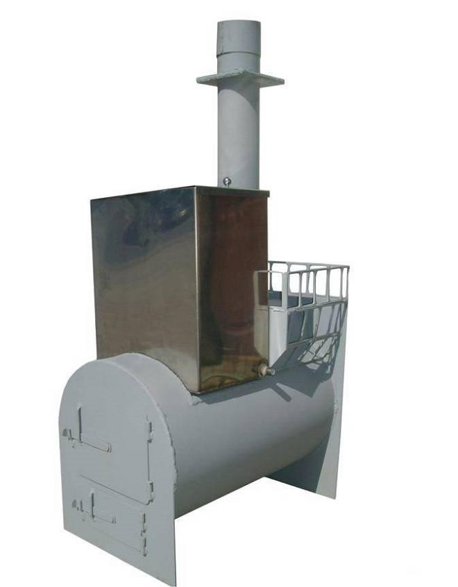 Банная печь из 250 трубы. как сделать печь для бани из трубы своими руками – пошаговое руководство