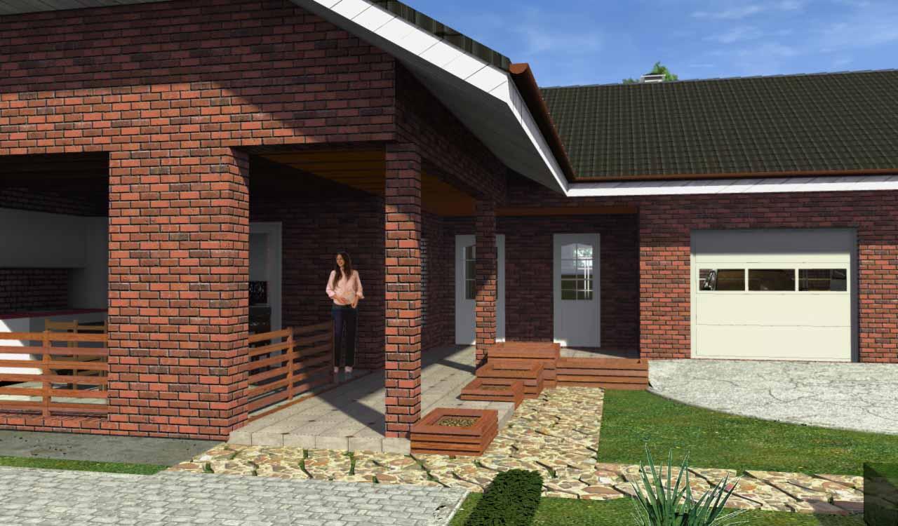 Можно ли построить дом с баней под одной крышей