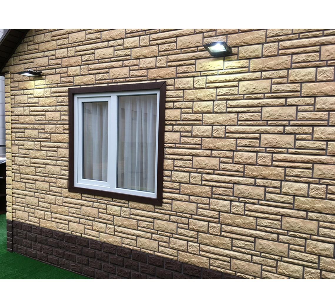 Сайдинг и фасадные панели: что лучше выбрать, сочетание, виды (под кирпич, камень) + фото