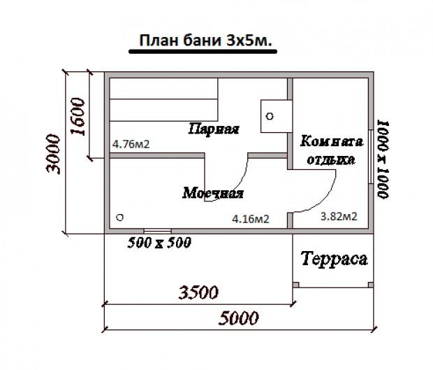 Баня 4х5 с мансардой + постройка своими руками - пошаговые инструкции!