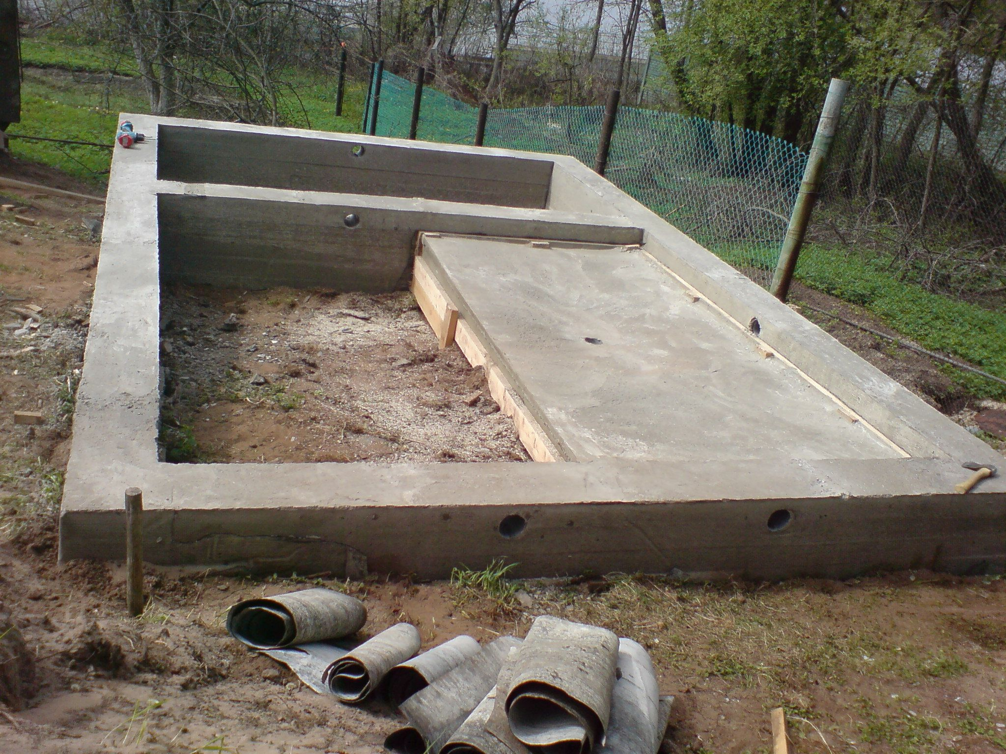 Как построить баню из шлакоблока своими руками