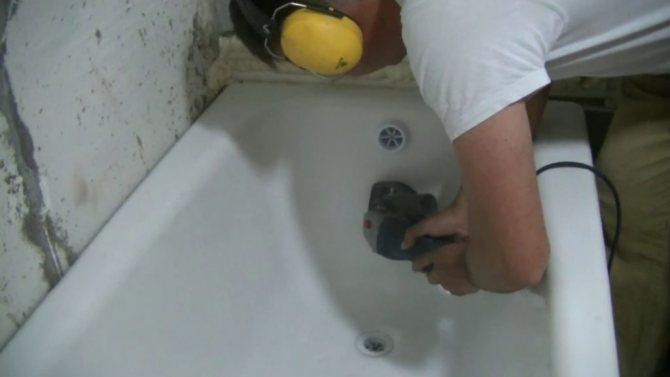Реставриреум ванну дома собственноручно