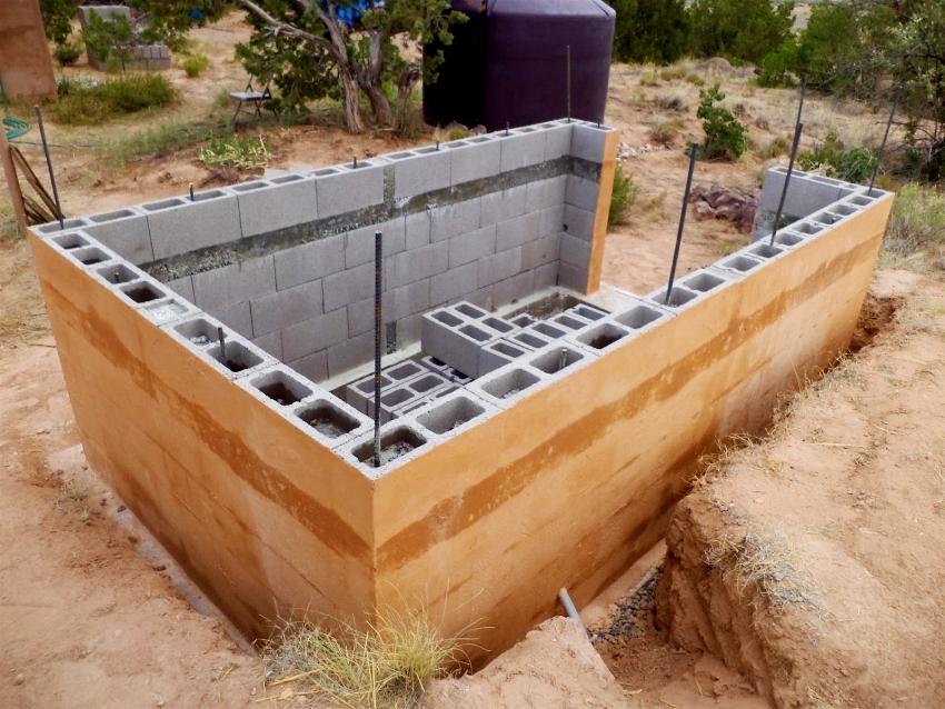 Лёгкий пар в каменных стенах. из каких блоков лучше строить баню