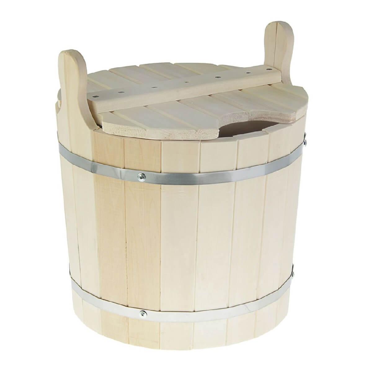 Запарники для бани: модели с крышкой для веников и другие виды. для чего нужны? ведра для запаривания с нержавеющими вставками и другие разновидности