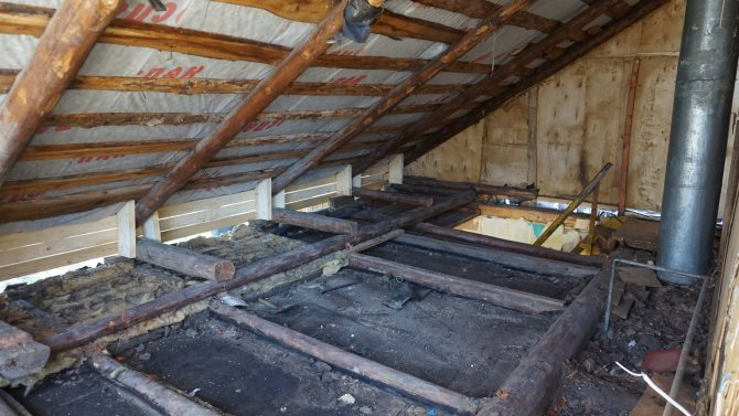Реставрация и ремонт старого деревянного дома своими руками