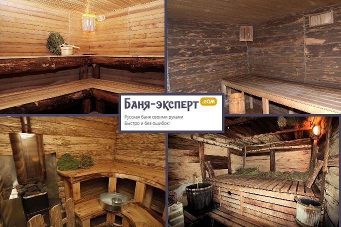 Баня из бревна своими руками: пошаговая инструкция   построить баню ру