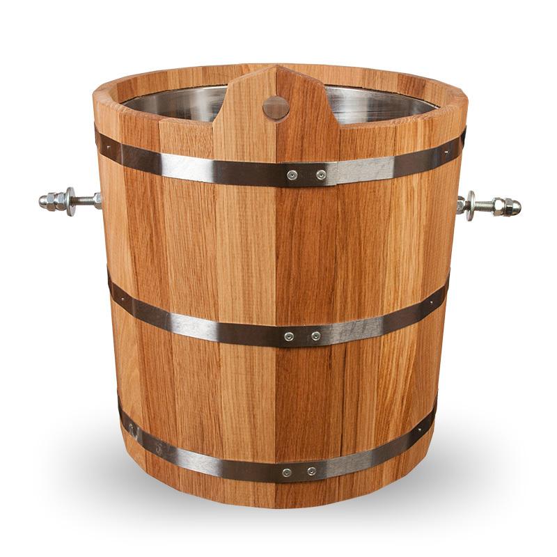 Обливное устройство для бани: преимущества недостатки. монтаж обливного ведра для бани   построить баню ру