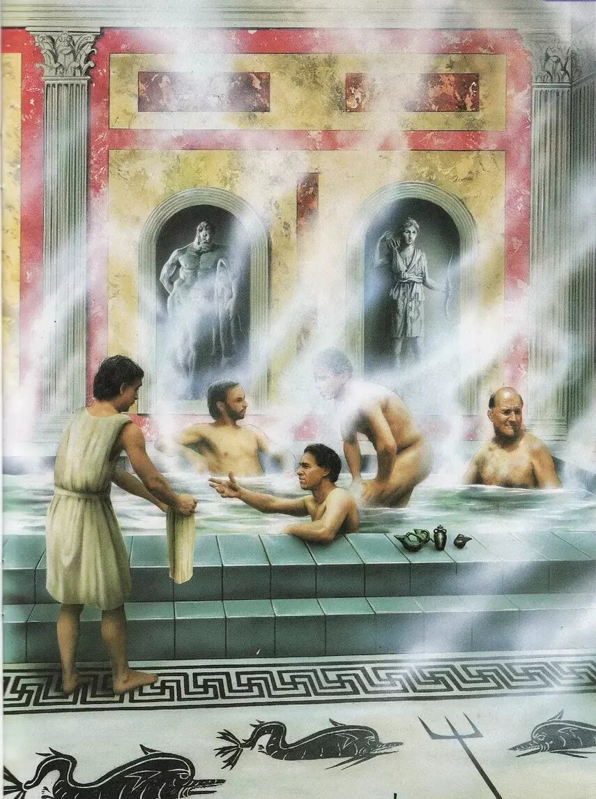 Римские термы - бани в древнем риме | журнал медицинских статей «молодой врач»