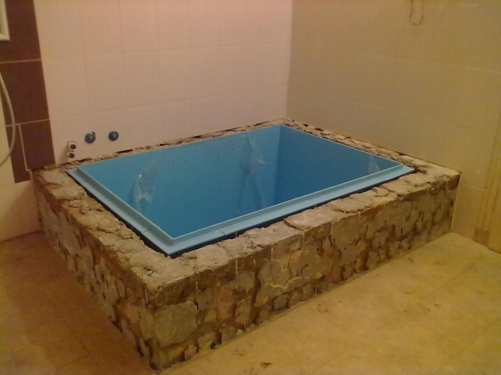 Бассейн в бане своими руками - строительство бассейна   стройсоветы