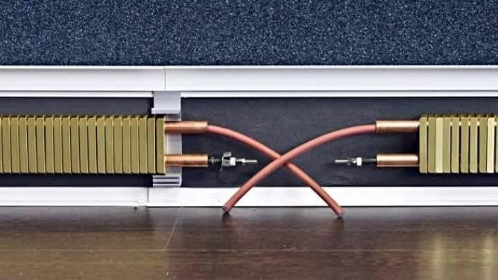 Водяной теплый плинтус своими руками: 2 вида новейших технологий отопления