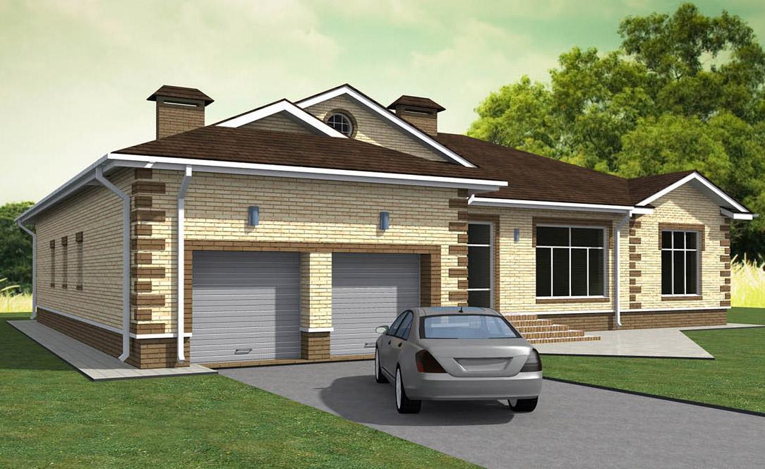 Проекты домов и коттеджей с гаражом | house expert | москва