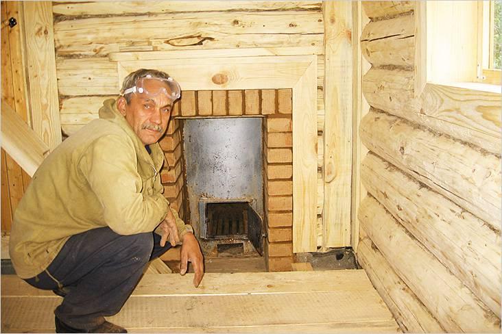 Как правильно топить печь в русской бане: сколько времени, рекомендуемая температура, выбор дров