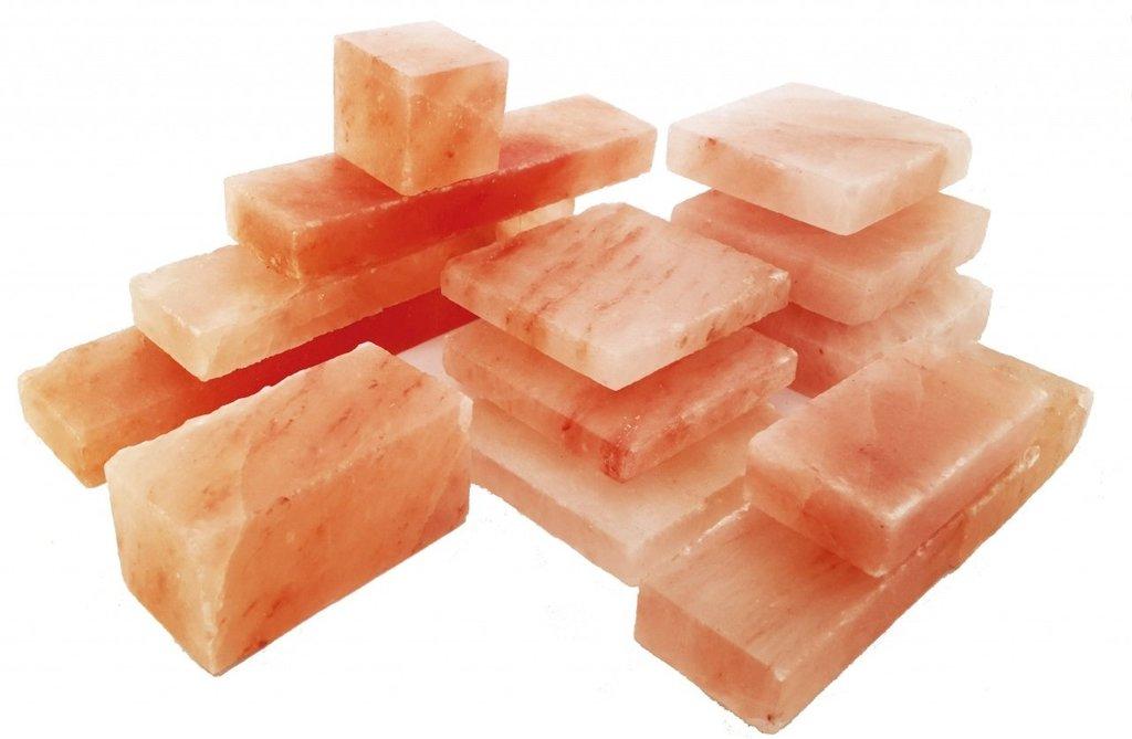 Кирпичи из соли для бани