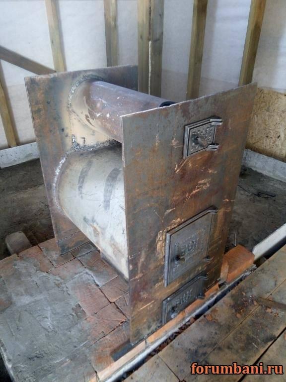Печь для бани из металла своими руками: самая удачная конструкция и лайфхаки от мастеров