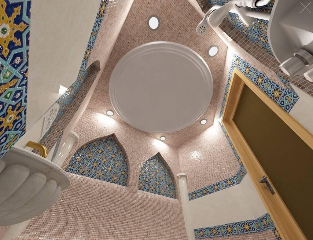 Типовые проекты турецкой бани: 3d-визуализация