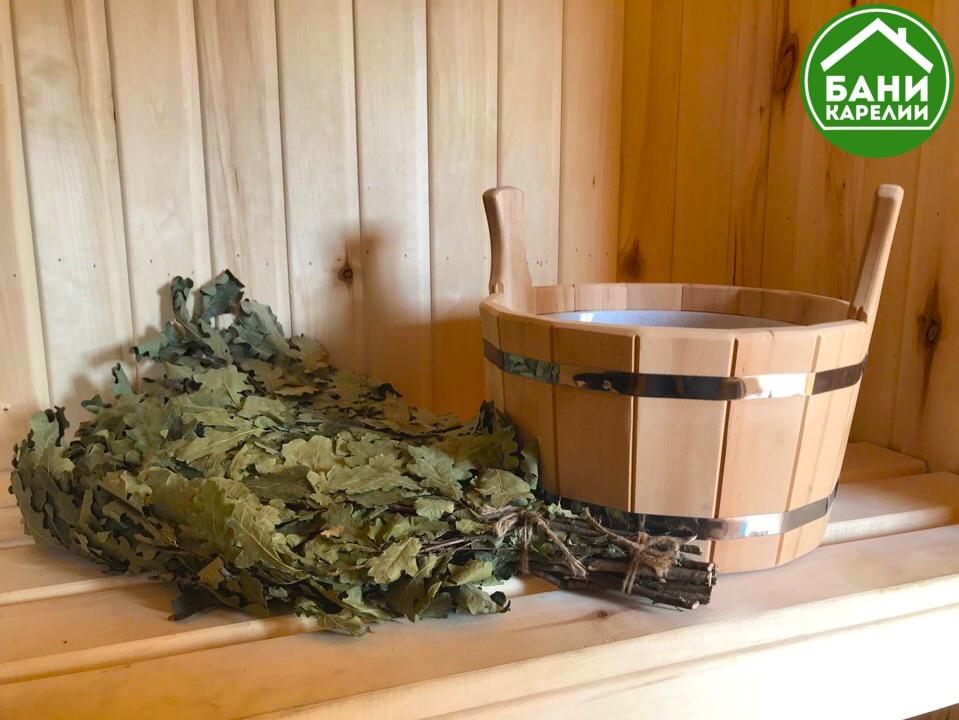 Изготовление веников для бани