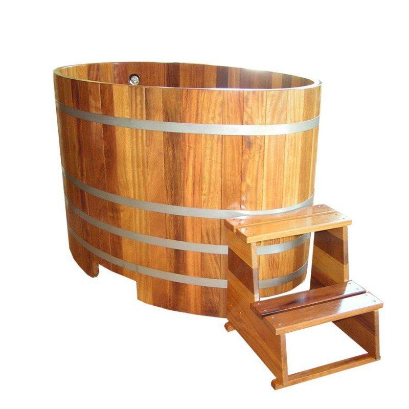 Купель для бани деревянная