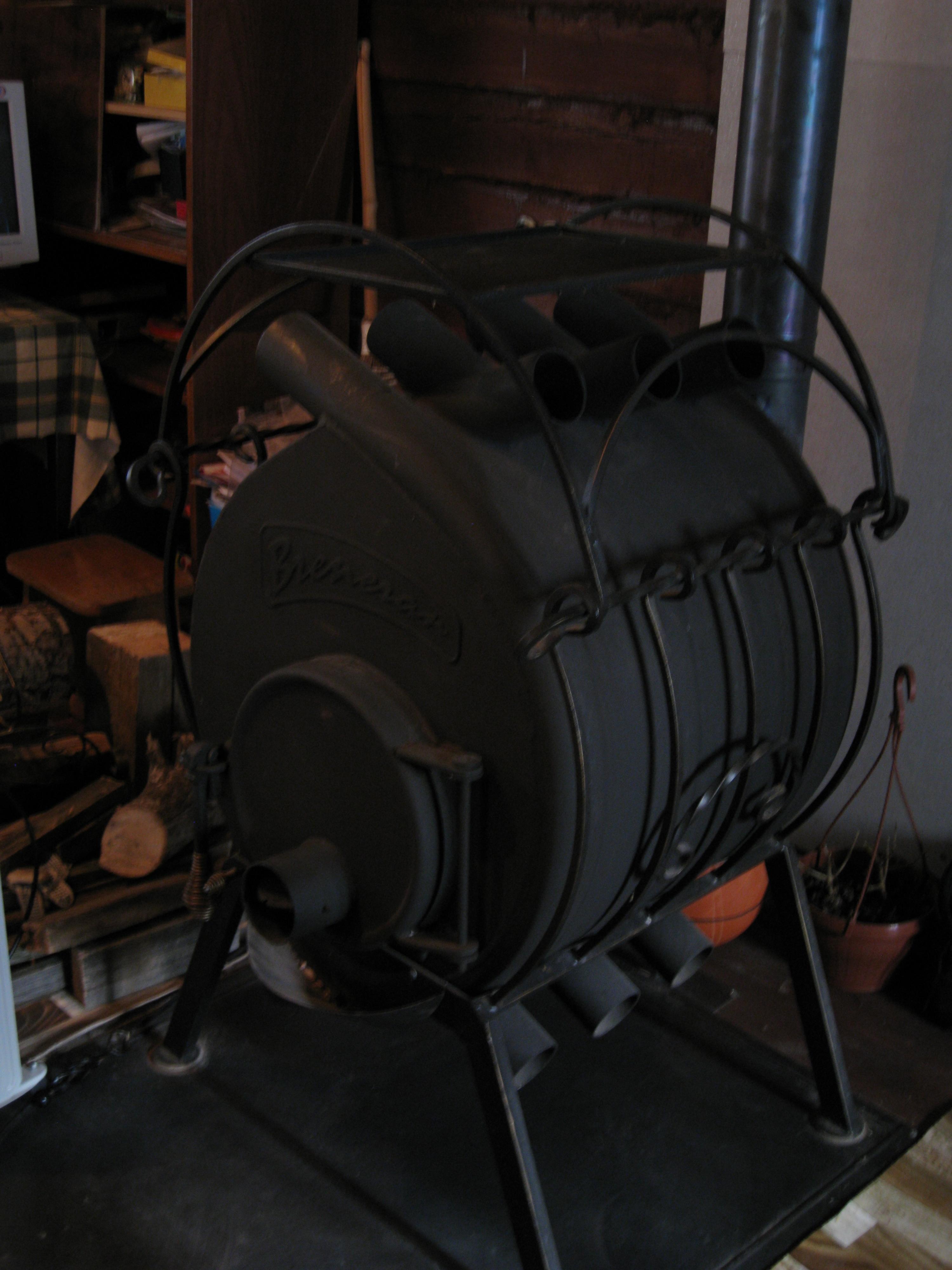 Как устроена печь бренеран с варочной плитой, монтаж и эксплуатация