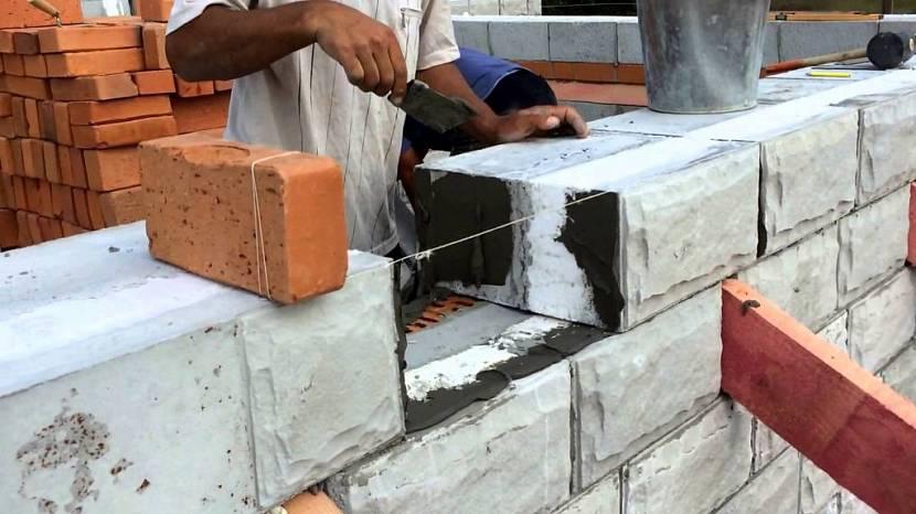 Теплоблок, теплостен, кремнегранит, полиблок - трехслойный стеновой блок