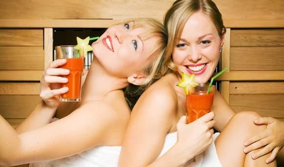 Как правильно и что полезно пить в бане