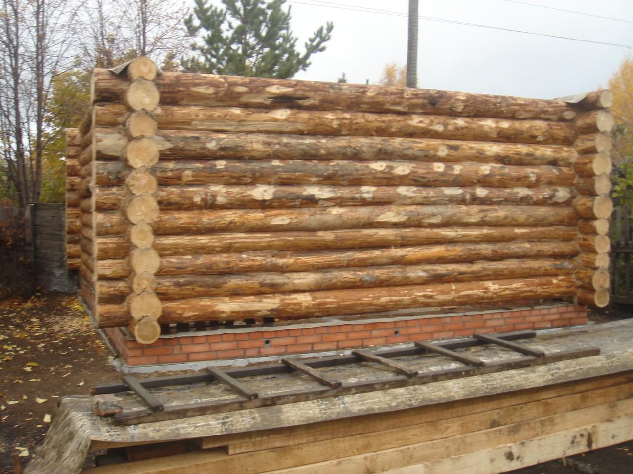 Баня из бруса своими руками поэтапное строительство