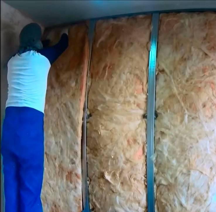 Материалы, применяемые для внутренней теплоизоляции стен