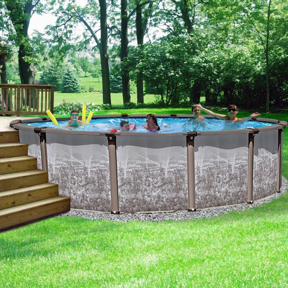 Какой бассейн лучше - каркасный или надувной: для дачи и загородного дома, детей и взрослых, чем отличаются, сравнение интекс и бествей, отзывы потребителей